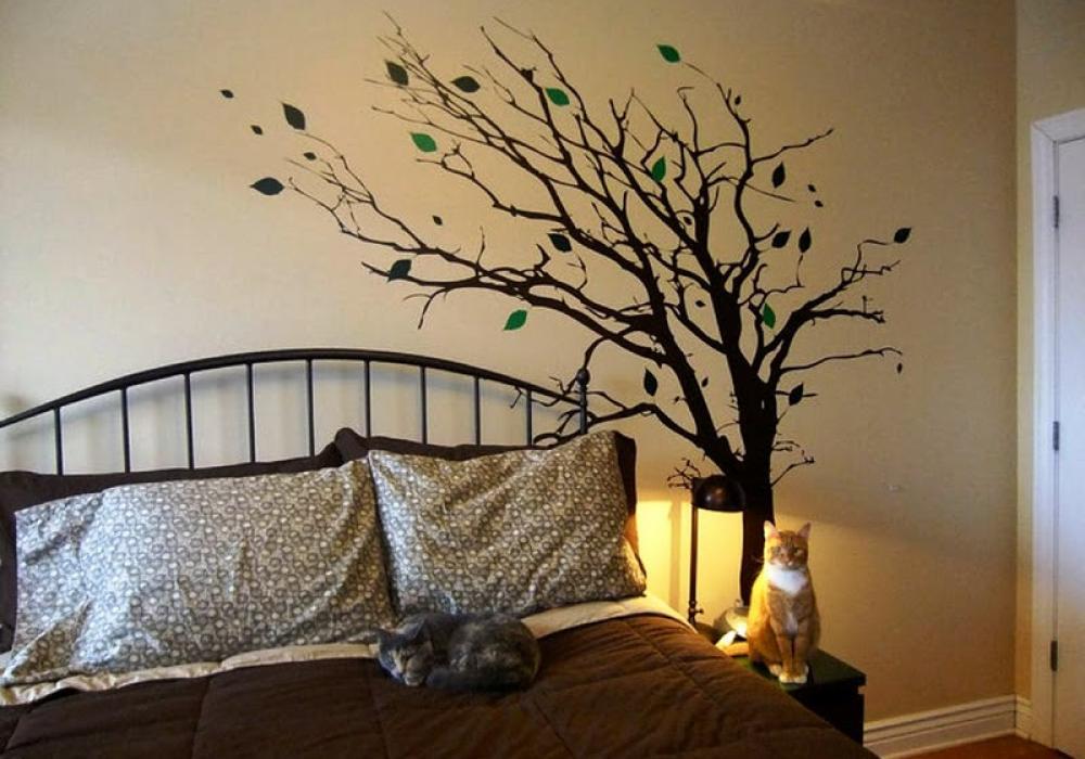 Autocolantele de perete sau stickerele de perete