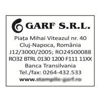 Stampila dreptunghiulara Printer 54 mostra