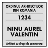 Stampila dreptunghiulara Printer Q30 mostra